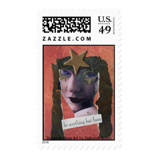 BE ANYTHING BUT BASIC Postage Stamp