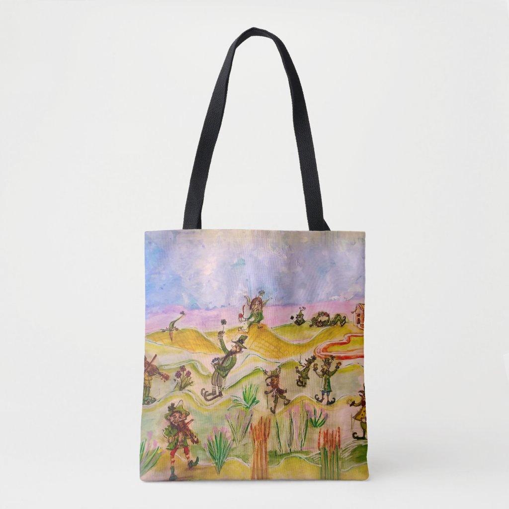Be as Lucky as a Leprechaun Tote Bag