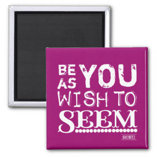 Be As You Wish To Seem Refrigerator Magnet