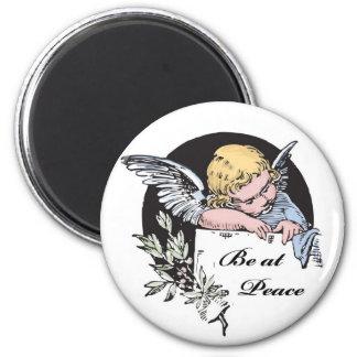 Be at Peace Angel Fridge Magnets
