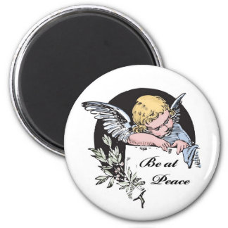 Be at Peace Angel Magnets