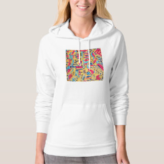 Be ATTRACTIVE.. The Artistic Choise for you.. Hooded Sweatshirt