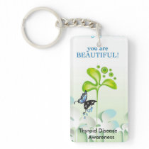 Be aware key chain