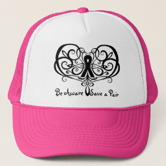 Be Aware Save a Pair, Breast Cancer Awareness Trucker Hat