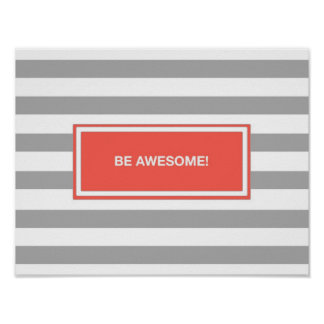 Be Awesome! Poster