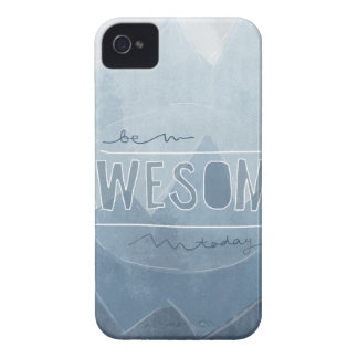 Be awesome Today iPhone 4 Cover
