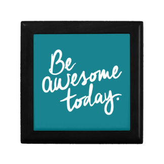 Be Awesome Today Motivation Jewelry Box