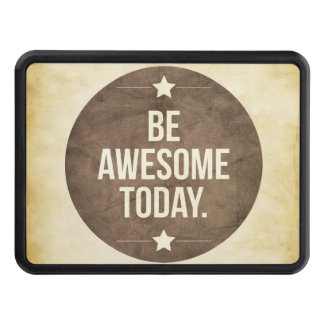 Be awesome today trailer hitch covers