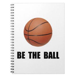 Be Ball Basketball Notebook