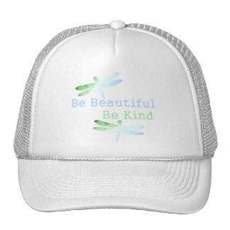 Be Beautiful, Be Kind Dragonflies Trucker Hat