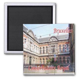 BE - Belgium Brussels Brussels Royal Conservatory Magnet