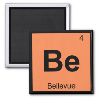 Be - Bellevue Washington Chemistry Periodic Table Magnets