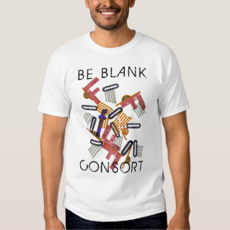 Be Blank Consort T-shirt