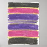 Be Bold Brushstrokes Art Print