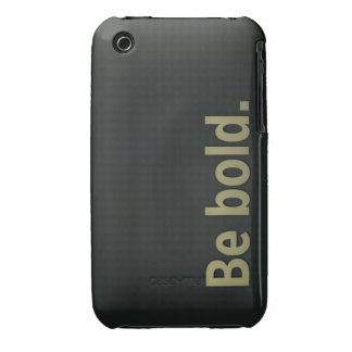 Be Bold iPhone 3 Case