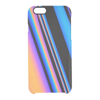 Be Bold Striped Pattern Uncommon Clearly™ Deflector iPhone 6 Case