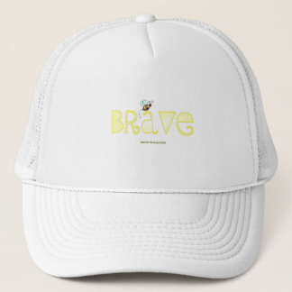 Be Brave - A Positive Word Trucker Hat