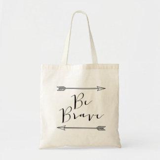 Be Brave Arrow Tote Bag
