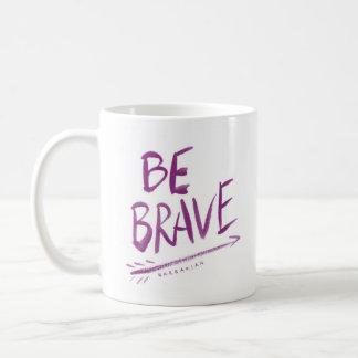BE BRAVE Boho Arrow Quote Coffee Mug