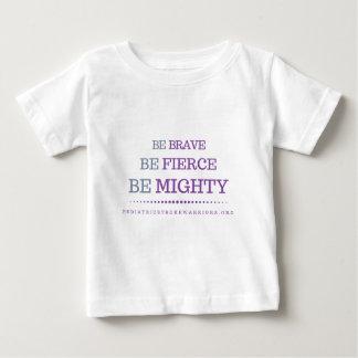 Be Brave infant t-shirt
