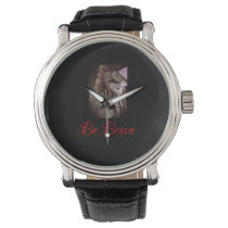 Be Brave Native American men's watch