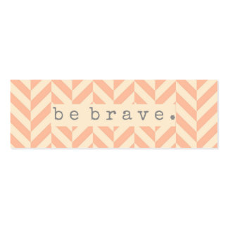 Be Brave Random Acts of Kindness Card Mini Business Card