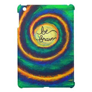 Be Brave Spiral Artwork iPad Case