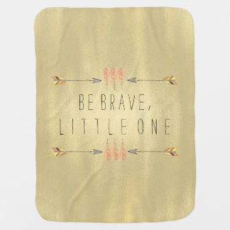 Be Brave Tribal Arrow Baby Stroller Blanket