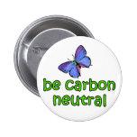 Be Carbon Neutral Pins