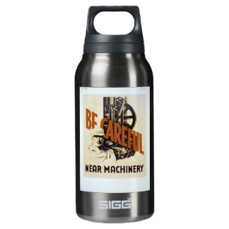 Be Careful Insulated Water Bottle