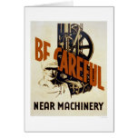 Be Careful Near Machinery 1939 WPA