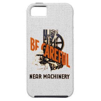 Be Careful Near Machinery iPhone SE/5/5s Case