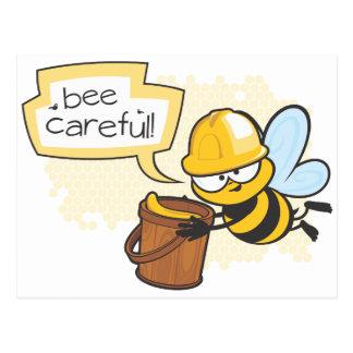 Be Careful! Postcard