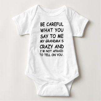 Be Careful What You Say To Me T Shirt
