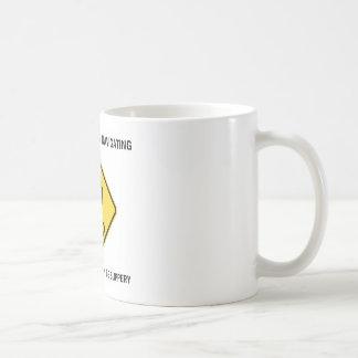 Be Careful When Navigating Road Of Life Slippery Coffee Mug