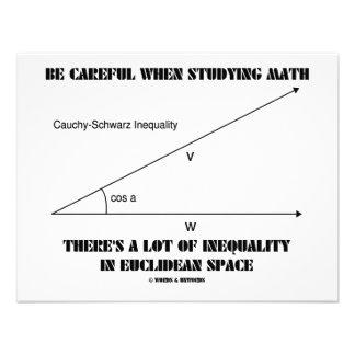 Be Careful When Studying Math Inequality Euclidean Custom Invites