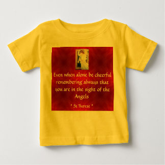 be cheerful infant shirt