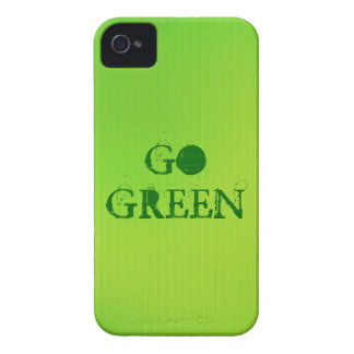 Be clean and go green iPhone 4 Case-Mate case