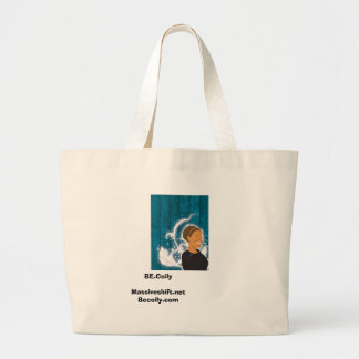 BE Coily Large Tote Bag