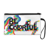 Be Colorful bag Wristlet Clutch