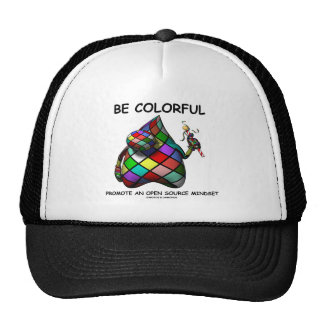 Be Colorful Promote An Open Source Mindset (Duke) Trucker Hat