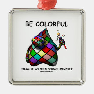 Be Colorful Promote An Open Source Mindset (Duke) Christmas Ornament
