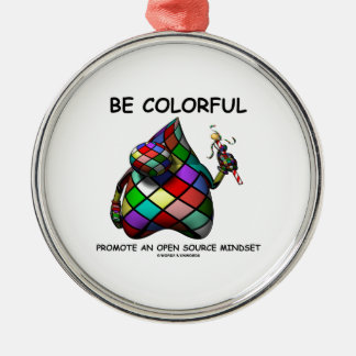 Be Colorful Promote An Open Source Mindset (Duke) Christmas Tree Ornaments