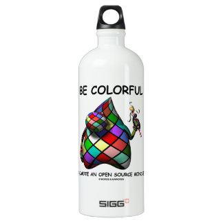 Be Colorful Promote An Open Source Mindset (Duke) SIGG Traveler 1.0L Water Bottle