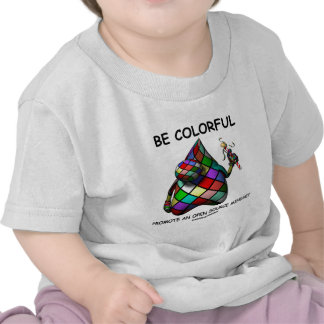 Be Colorful Promote An Open Source Mindset (Duke) T-shirts