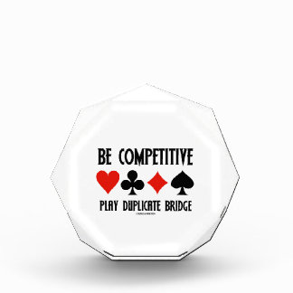 Be Competitive Play Duplicate Bridge Awards