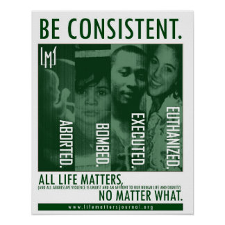 Be Consistent Poster