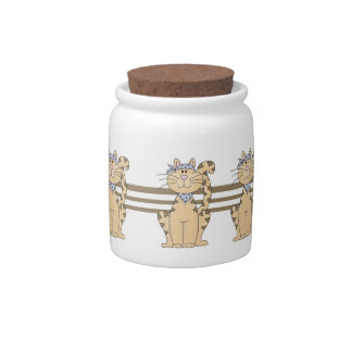 Be Cool Cat Candy Jars