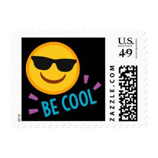 Be Cool Emoji Postage Stamps