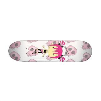 """Be Cool"" Holly Rocket  Mini Cruiser Skate Deck"